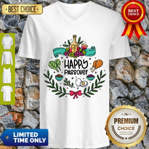 Official Happy Passover V-neck