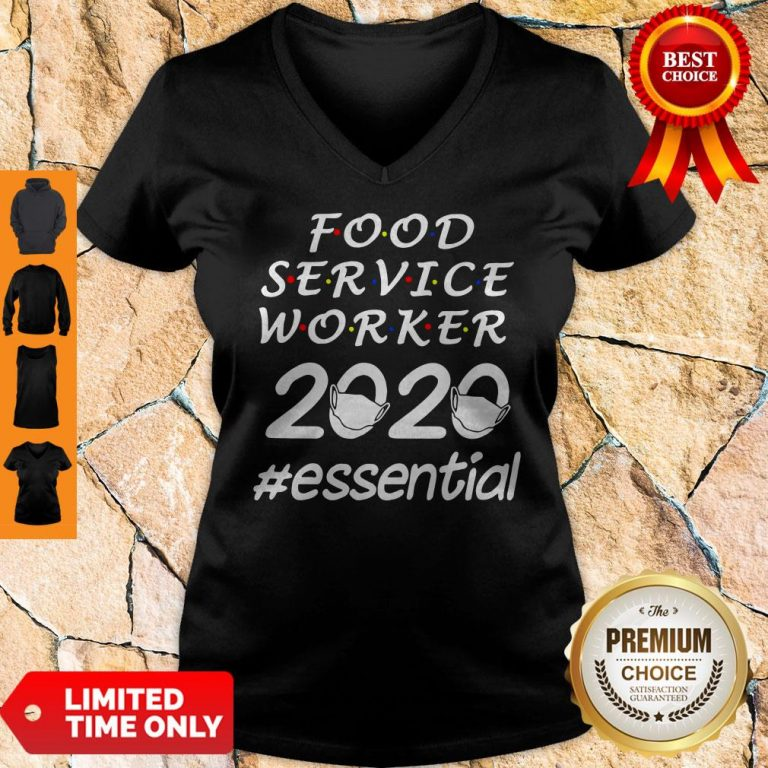 Perfect Food Service Worker 2020 Essential V-neck