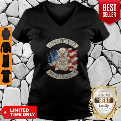 Premium American Flag I Feel The Need The Need For Speed US Air Force V-neck