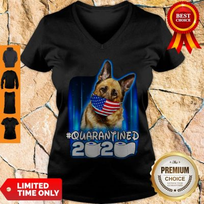 Top Becgie Face Mask American Flag Quarantined 2020 Toilet Paper V-neck