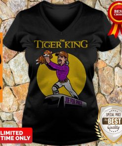 Nice The Lion King Joe For Pres The Tiger King V-neck