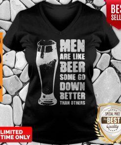 Good Men Are Like Beer Men Are Like Beer New V-neck
