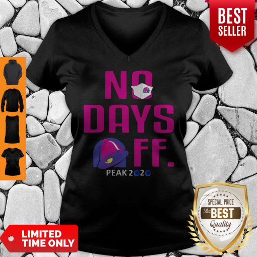 Official No Day OFF Peak 2020 Bell Mask V-neck