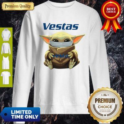 Awesome Star Wars Baby Yoda Hug Vestas Mask Covid 19 Sweatshirt