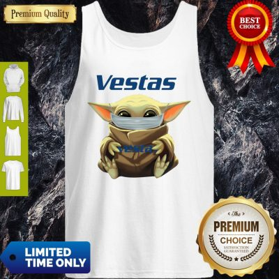 Awesome Star Wars Baby Yoda Hug Vestas Mask Covid 19 Tank Top