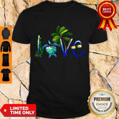 Awesome Summer Vibe Turtle Love Shirt
