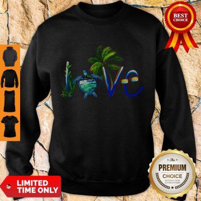 Awesome Summer Vibe Turtle Love Sweatshirt