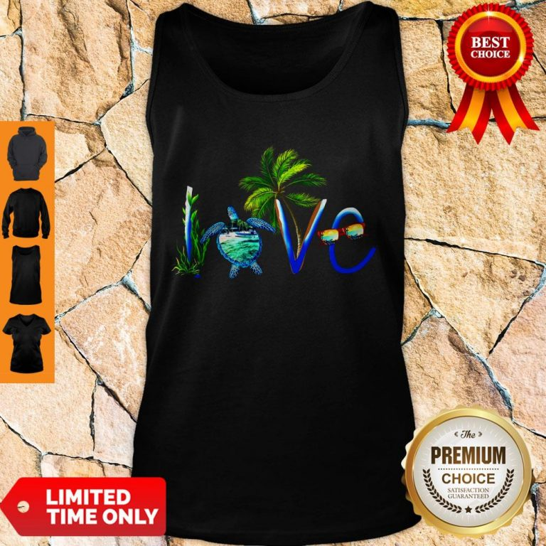 Awesome Summer Vibe Turtle Love Tank Top