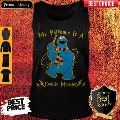 Cute My Patronus Is A Cookie Monster Tank Top