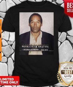 Funny Los Angeles Police Jail Div Oj Simpson Shirt