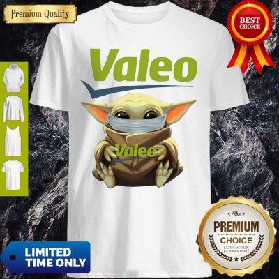 Good Star Wars Baby Yoda Hug Valeo Mask Covid 19 Shirt