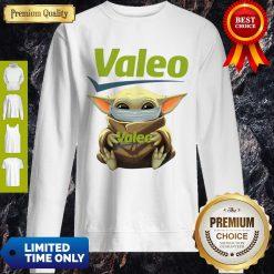 Good Star Wars Baby Yoda Hug Valeo Mask Covid 19 Sweatshirt