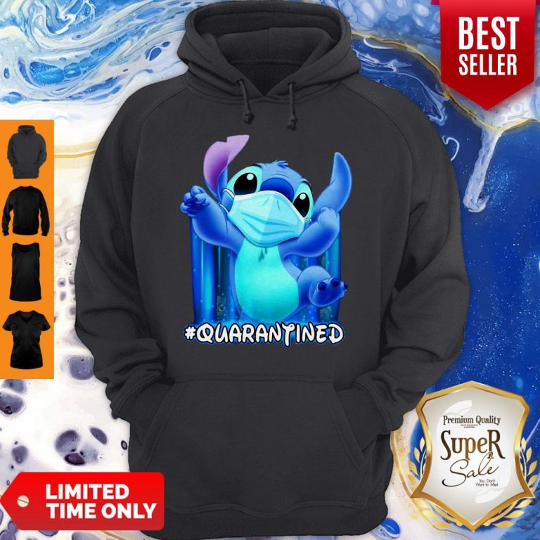 Awesome Stitch Face Mask Quarantined Hoodie