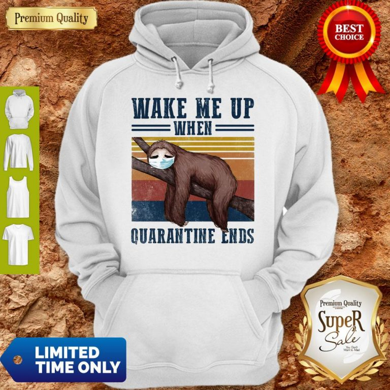 Good Sloth Wake Up Be Awesome Go To Bed That's How I Roll Vintage Hoodie