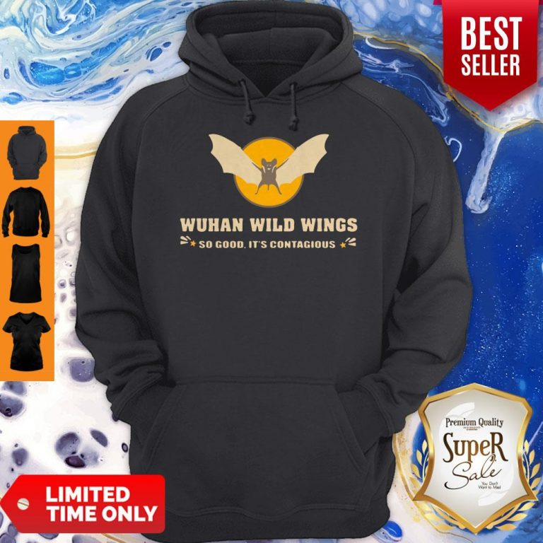 Official Wuhan Wild Wings So Good It's Contagious Hoodie