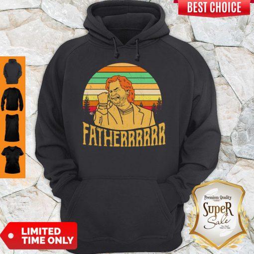 Hot Douglas Reynholm Fatherrrrrr Vintage Hoodie