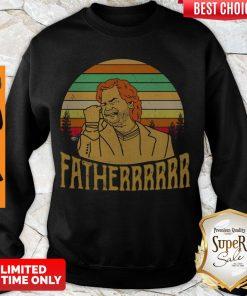 Hot Douglas Reynholm Fatherrrrrr Vintage Sweatshirt