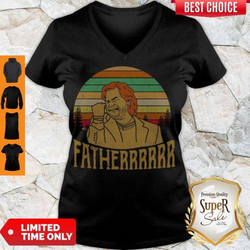 Hot Douglas Reynholm Fatherrrrrr Vintage V-neck