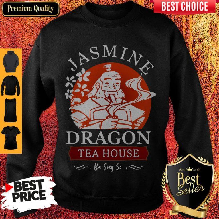 Nice Jasmine Dragon Tea House Ba Sing Se Sweatshirt