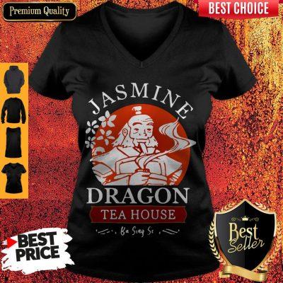 Nice Jasmine Dragon Tea House Ba Sing Se V-neck