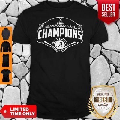 Nice Playoff National Champions Alabama Crimson Shirt