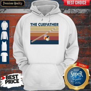 Perfect Billiards The Cue Father Vintage Hoodie