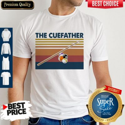 Perfect Billiards The Cue Father Vintage Shirt