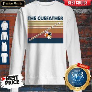 Perfect Billiards The Cue Father Vintage Sweatshirt