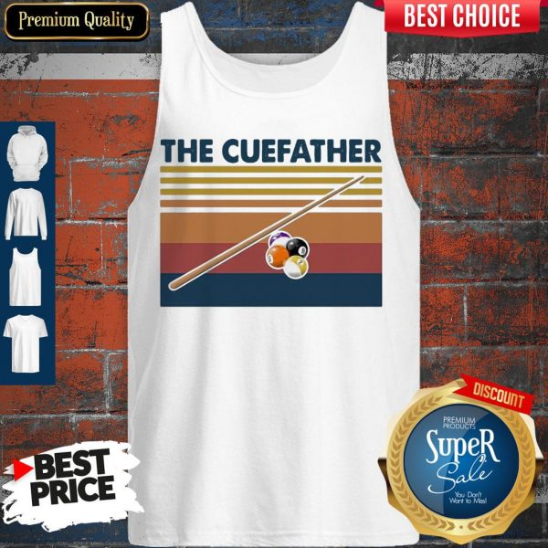Perfect Billiards The Cue Father Vintage Tank Top