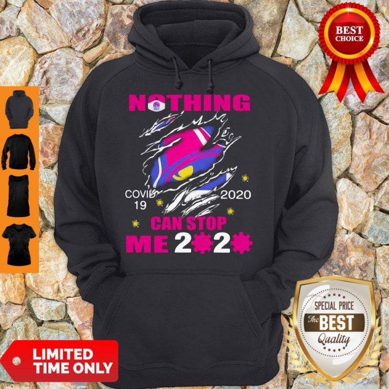 Perfect Taco Bell Covid-19 2020 I Can't Stay At Home Hand Hoodie