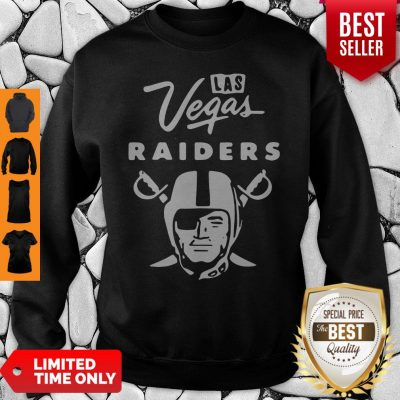 Premium Las Vegas Raiders Football Logo Sweatshirt