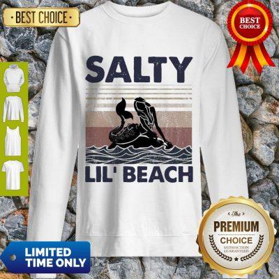 Premium Mermaid Salty Lil' Beach Vintage Sweatshirt