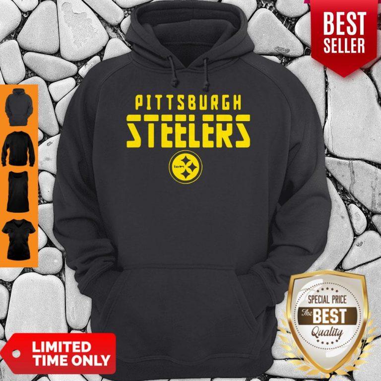Premium Pittsburgh Steelers Football Logo Hoodie