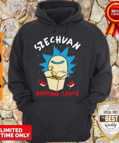 Premium Rick And Morty Rick's Szechuan Dipping Sauce Adult Hoodie
