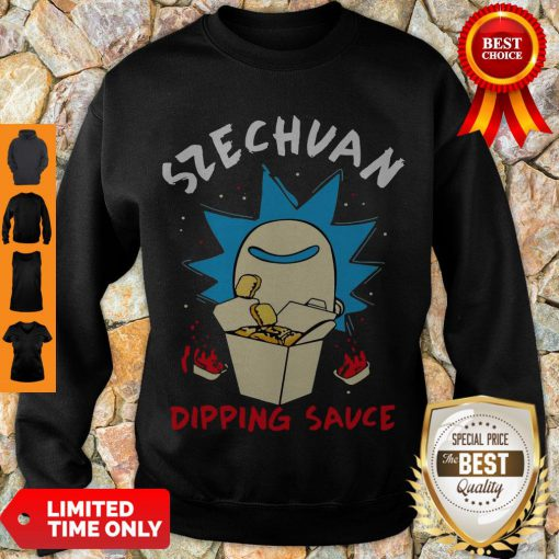 Premium Rick And Morty Rick's Szechuan Dipping Sauce Adult Sweatshirt