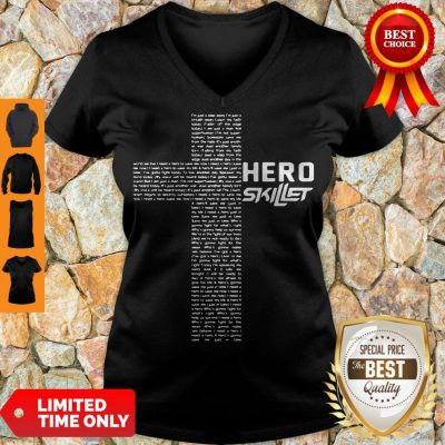 Premium Skillet Hero 2502 Na02 V-neck