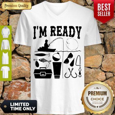 Premium That Enough I'm Ready Fishing V-neck