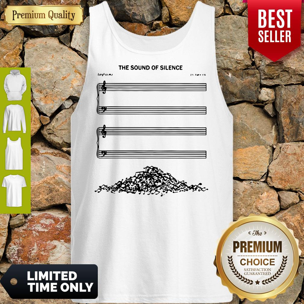 Premium The Sound Of Silence Tank Top - Design By Earstees.com
