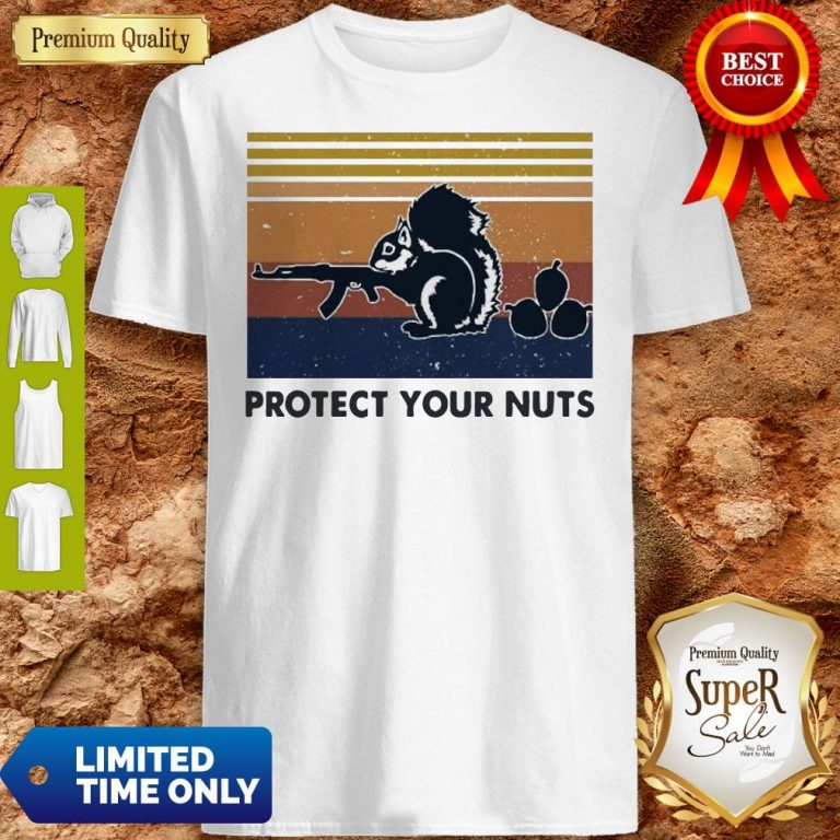 Premium Squirrel Protect Your Nuts Vintage Shirt