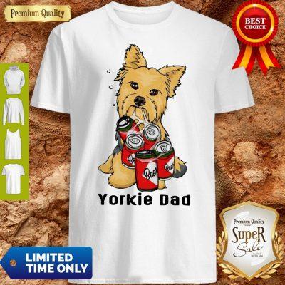 Premium Yorkie Dad And Beer Shirt
