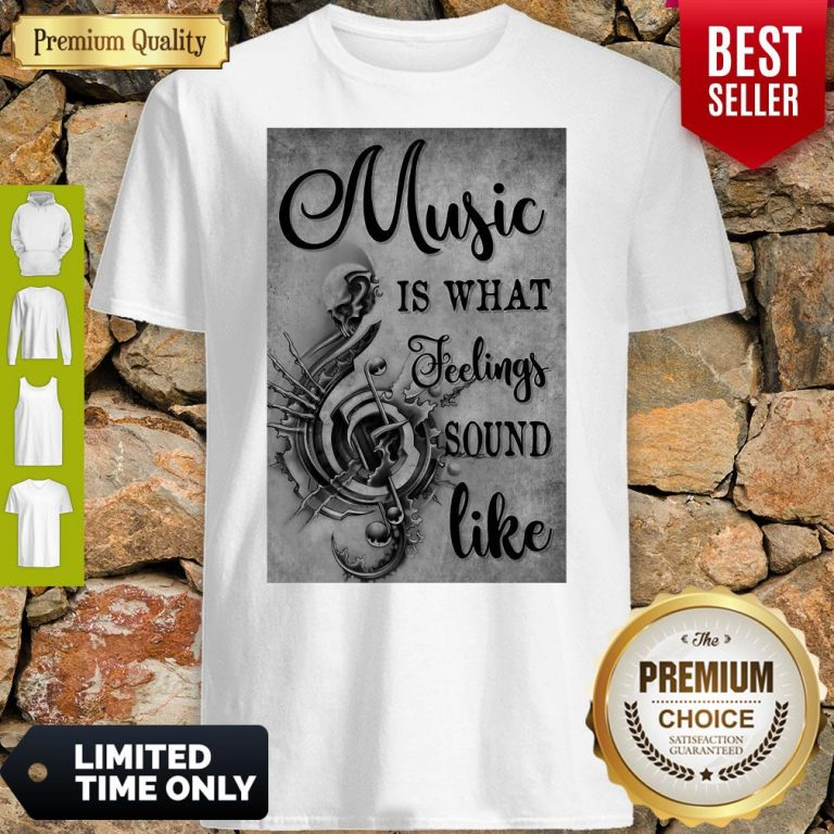 Awesome Music Is What Feeling Sound Like Vertical Poster Shirt