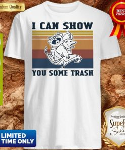 Nice Raccoon And Possum I Can Show You Some Trash Vintage Shirt