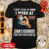 Strong Woman Face Mask I Can't Stay At Home I Work At Logan's Roadhouse We Fight When Others Can't Shirt