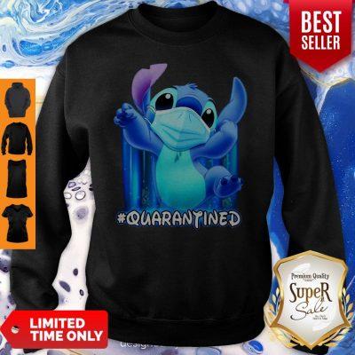 Awesome Stitch Face Mask Quarantined Sweatshirt