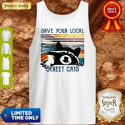 Premium Save Your Local Street Cats Vintage Tank Top