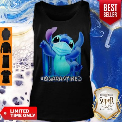 Awesome Stitch Face Mask Quarantined Tank Top