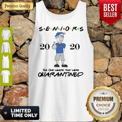 Top Seniors Class Of 2020 Quarantine Graduation Gift And Keepsake Tank Top