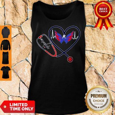 Premium Heart W Capitals Tank Top