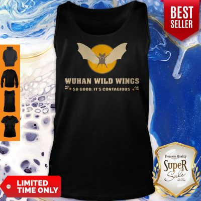 Official Wuhan Wild Wings So Good It's Contagious Tank Top