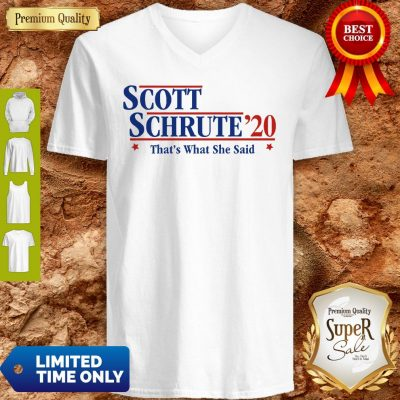 Official Scott Schrute'20 That's What She Said V-neck